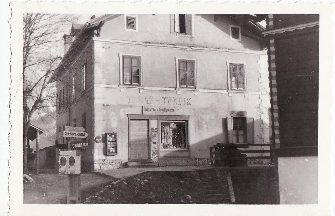 Leitnervilla Altaussee 1956