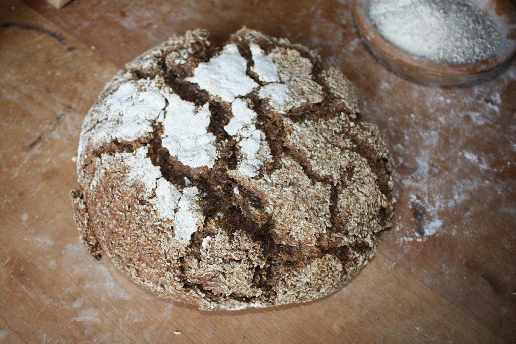 veganes Frühstück Altaussee Brot